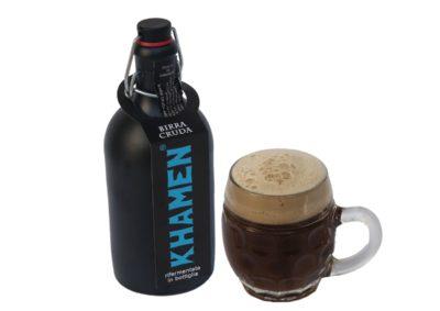 birra etichetta blu